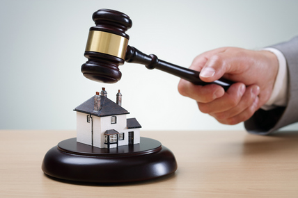 bigstock Bidding on a home gavel and h 94641836 428